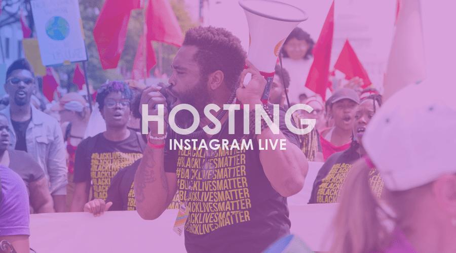 Cómo ser el anfitrión perfecto en Instagram Live