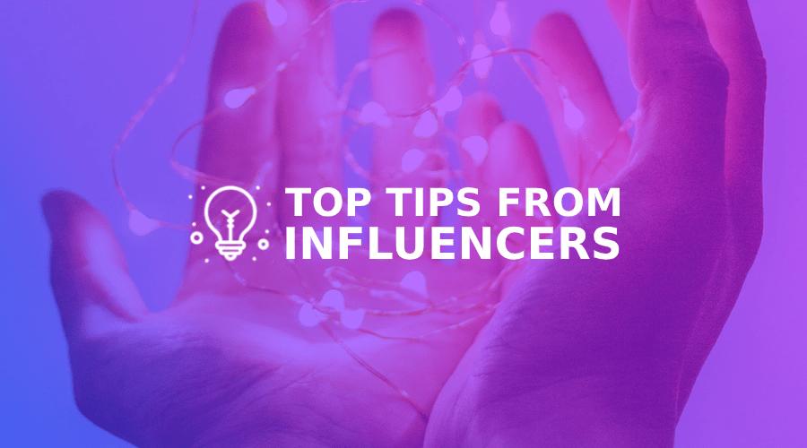 As 10 melhores dicas dos melhores influenciadores do Instagram